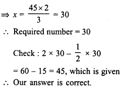 RD Sharma Class 8 Solutions Chapter 9 Linear Equations in One VariableEx 9.4 3
