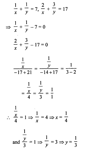 RS Aggarwal Class 10 Solutions Chapter 3 Linear equations in two variables Ex 3C 10
