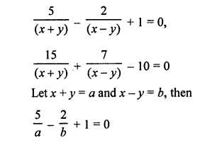 RS Aggarwal Class 10 Solutions Chapter 3 Linear equations in two variables Ex 3C 11