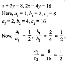 RS Aggarwal Class 10 Solutions Chapter 3 Linear equations in two variables Ex 3F 1