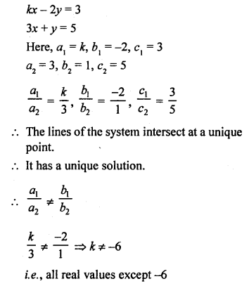 RS Aggarwal Class 10 Solutions Chapter 3 Linear equations in two variables MCQS 21