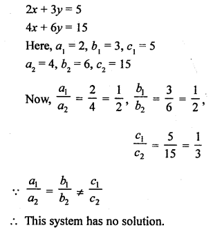 RS Aggarwal Class 10 Solutions Chapter 3 Linear equations in two variables MCQS 24