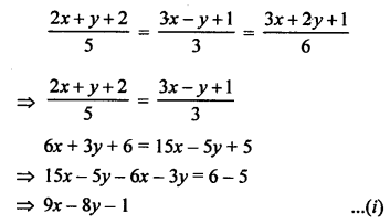 RS Aggarwal Class 10 Solutions Chapter 3 Linear equations in two variables MCQS 5