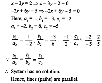 RS Aggarwal Class 10 Solutions Chapter 3 Linear equations in two variables Test Yourself 11