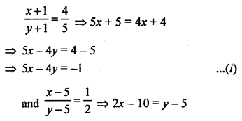 RS Aggarwal Class 10 Solutions Chapter 3 Linear equations in two variables Test Yourself 22