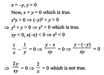RS Aggarwal Class 10 Solutions Chapter 3 Linear equations in two variables Test Yourself 5
