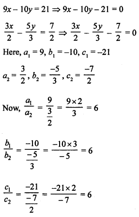 RS Aggarwal Class 10 Solutions Chapter 3 Linear equations in two variables Test Yourself 8