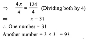 RS Aggarwal Class 6 Solutions Chapter 9 Linear Equations in One Variable Ex 9C Q8.1