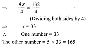 RS Aggarwal Class 6 Solutions Chapter 9 Linear Equations in One Variable Ex 9C Q9.1