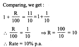 lass 8 Solutions Chapter 14 Compound InterestEx 14.3 19