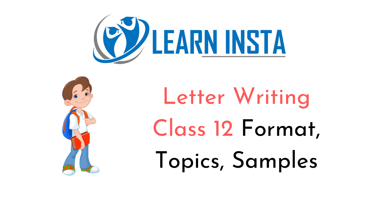Letter Writing Class 12