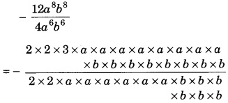 MCQ Questions for Class 8 Maths Chapter 14 Factorisation with Answers