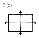 ML Aggarwal Class 6 Solutions for ICSE Maths Chapter 12 Symmetry Objective Type Questions 4