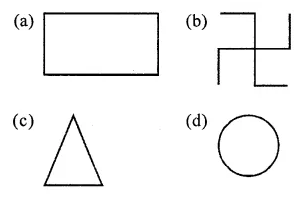 ML Aggarwal Class 6 Solutions for ICSE Maths Chapter 12 Symmetry Objective Type Questions 8