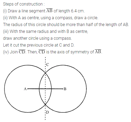 ML Aggarwal Class 6 Solutions for ICSE Maths Chapter 13 Practical Geometry Ex 13.2 4