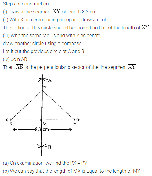 ML Aggarwal Class 6 Solutions for ICSE Maths Chapter 13 Practical Geometry Ex 13.2 5