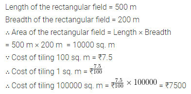 ML Aggarwal Class 6 Solutions for ICSE Maths Chapter 14 Mensuration Ex 14.2 10