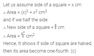 ML Aggarwal Class 6 Solutions for ICSE Maths Chapter 14 Mensuration Objective Type Questions 9