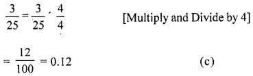 ML Aggarwal Class 6 Solutions for ICSE Maths Chapter 7 Decimals Objective Type Questions 12