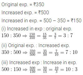 ML Aggarwal Class 6 Solutions for ICSE Maths Chapter 8 Ratio and Proportion Ex 8.1 12