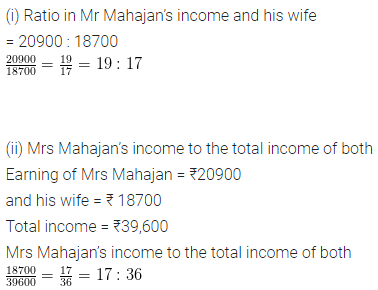 ML Aggarwal Class 6 Solutions for ICSE Maths Chapter 8 Ratio and Proportion Ex 8.1 13