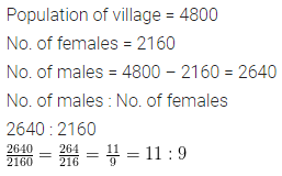 ML Aggarwal Class 6 Solutions for ICSE Maths Chapter 8 Ratio and Proportion Ex 8.1 8