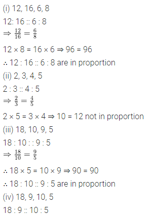 ML Aggarwal Class 6 Solutions for ICSE Maths Chapter 8 Ratio and Proportion Ex 8.2 4