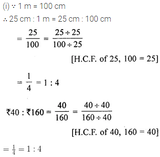 ML Aggarwal Class 6 Solutions for ICSE Maths Chapter 8 Ratio and Proportion Ex 8.2 9