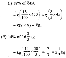 ML Aggarwal Class 6 Solutions for ICSE Maths Chapter 8 Ratio and Proportion Ex 8.4 2