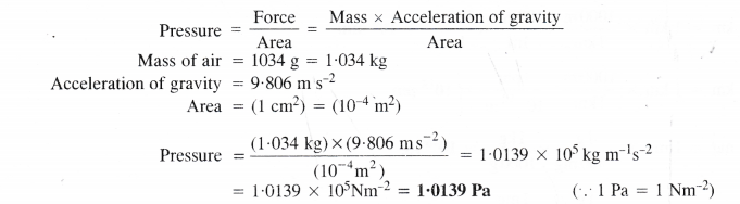 NCERT Solutions for Class 11 Chemistry Chapter 1 Some Basic Concepts of Chemistry 11