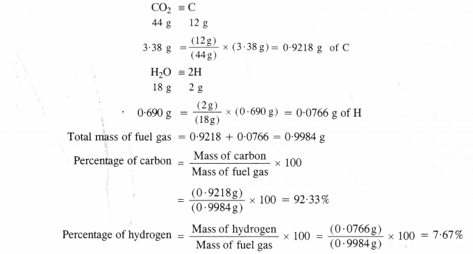 NCERT Solutions for Class 11 Chemistry Chapter 1 Some Basic Concepts of Chemistry 30