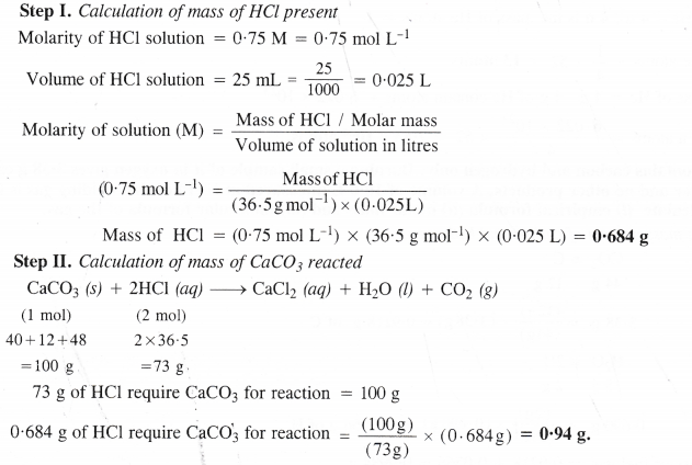 NCERT Solutions for Class 11 Chemistry Chapter 1 Some Basic Concepts of Chemistry 32