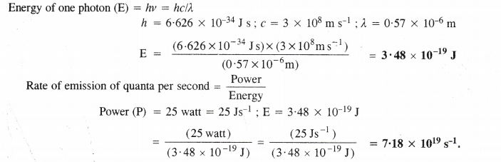 NCERT Solutions for Class 11 Chemistry Chapter 2 Structure of Atom 13