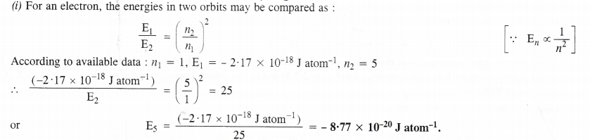 NCERT Solutions for Class 11 Chemistry Chapter 2 Structure of Atom 18