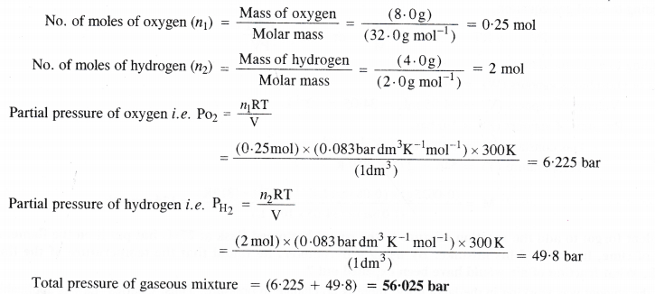 NCERT Solutions for Class 11 Chemistry Chapter 5 States of Matter Gases and Liquids 12