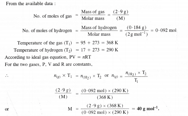 NCERT Solutions for Class 11 Chemistry Chapter 5 States of Matter Gases and Liquids 15