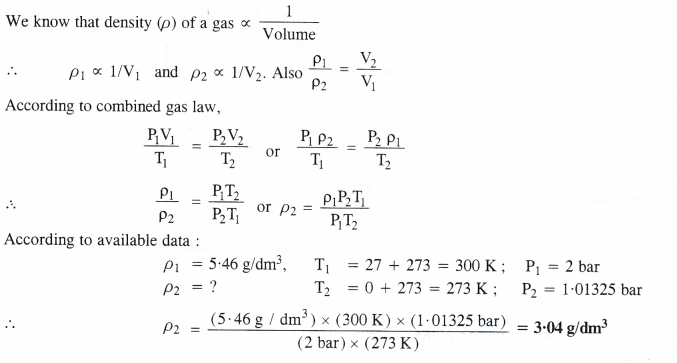 NCERT Solutions for Class 11 Chemistry Chapter 5 States of Matter Gases and Liquids 8