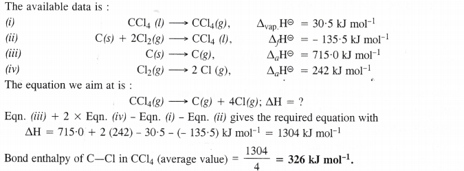 NCERT Solutions for Class 11 Chemistry Chapter 6 Thermodynamics 8