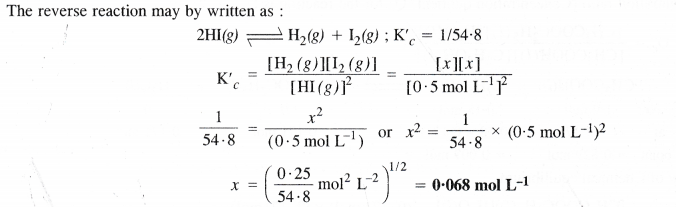 NCERT Solutions for Class 11 Chemistry Chapter 7 Equilibrium 13