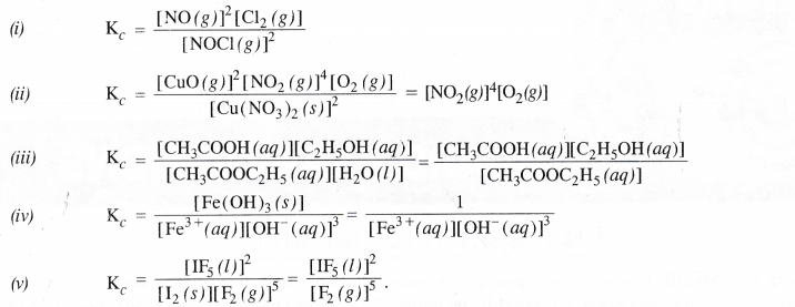 NCERT Solutions for Class 11 Chemistry Chapter 7 Equilibrium 3