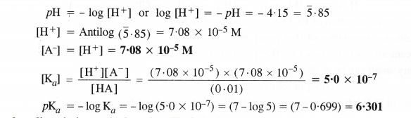 NCERT Solutions for Class 11 Chemistry Chapter 7 Equilibrium 39