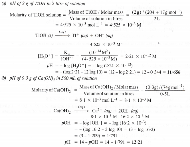 NCERT Solutions for Class 11 Chemistry Chapter 7 Equilibrium 42