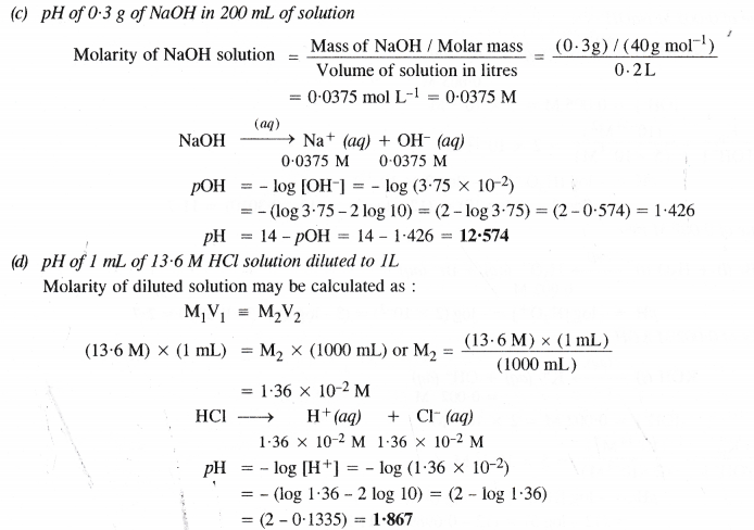 NCERT Solutions for Class 11 Chemistry Chapter 7 Equilibrium 43