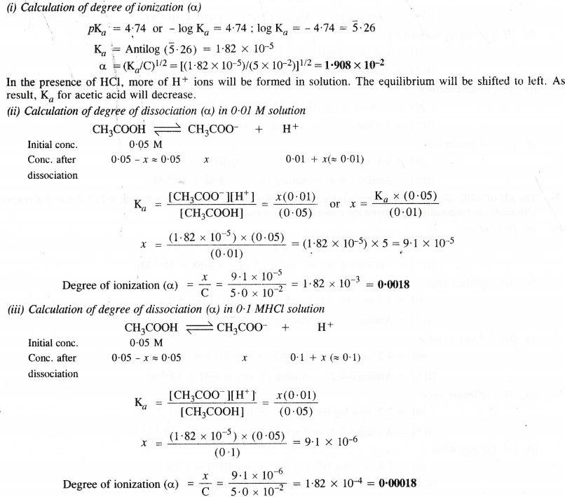 NCERT Solutions for Class 11 Chemistry Chapter 7 Equilibrium 48