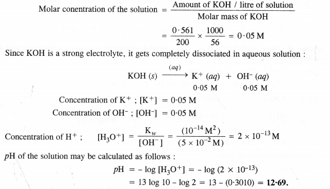NCERT Solutions for Class 11 Chemistry Chapter 7 Equilibrium 50