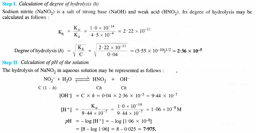 NCERT Solutions for Class 11 Chemistry Chapter 7 Equilibrium 55