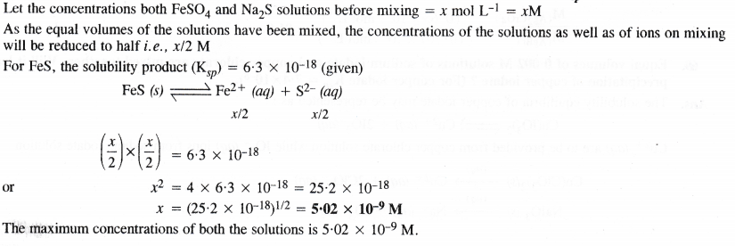 NCERT Solutions for Class 11 Chemistry Chapter 7 Equilibrium 67