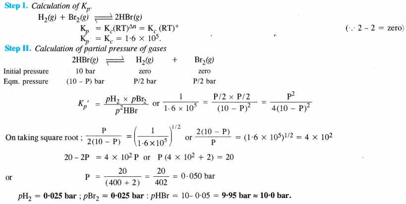 NCERT Solutions for Class 11 Chemistry Chapter 7 Equilibrium 70