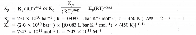 NCERT Solutions for Class 11 Chemistry Chapter 7 Equilibrium 9