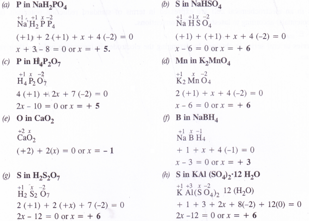 NCERT Solutions for Class 11 Chemistry Chapter 8 Redox Reactions 1